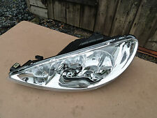New Valeo Peugeot 206 Passenger Side Headlight Headlamp Part No. 087277