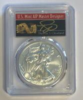2020 1oz American Silver Eagle PCGS MS70 FS 1 of 1000 Thomas Cleveland Arrows