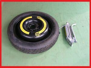 "Skoda Fabia Space Saver Spare Wheel & Tyre 15"" + Lifting Jack & Wheel Spanner"