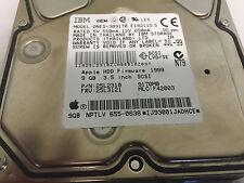 Apple 9 Gb  68-Pin SCSI HDD   IBM OEM  DNES-309170 22310 25L3121