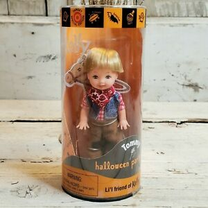 2000 Tommy as Cowboy ~ Lil Friend of Kelly Halloween Party Barbie Doll NRFB