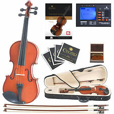 Cecilio 1/16 CVN-100 Student Violin +Book/Audio/Video+Tuner+Case