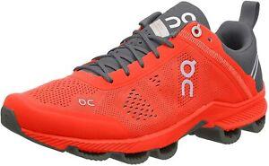On Running Shoes Cloudsurfer Orange Grey