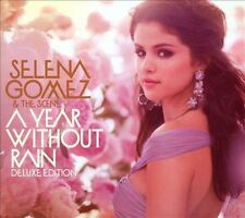 SELENA GOMEZ & THE SCENE - A YEAR WITHOUT RAIN [DELUXE EDITION CD/DVD] (NEW CD)