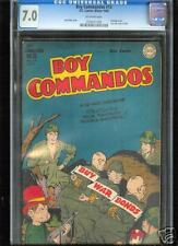 Boy Commandos #13  CGC  7.0  FN/VF  Universal