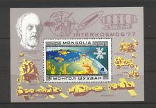 Mongolia 1977 espacio/Radio Satelital/Apolo/m/s (n11681)