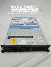 IBM 9110-510 p5-510 pSeries Server 1.5GHz 2-Way, 8GB mem, 73.4GB disk, rails