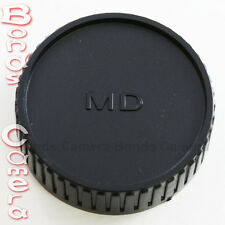 Plastic Rear Lens Cap Cover for Minolta MD MC SR SLR Camera Lens black