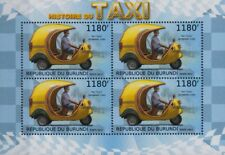 Coco Taxi (Cocotaxi) Auto-Rickshaw Taxi Cab Vehicle Stamp Sheet