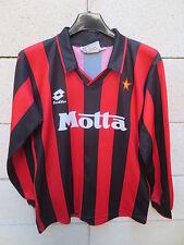 VINTAGE Maillot MILAN AC Lotto DONADONI n°7 maglia shirt Milano XXL kid 164 ( XS