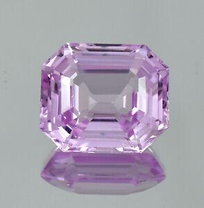 AAA Natural Soft Pink Afghanistan Kunzite Loose Radiant Cut Gemstone 15.60 CT