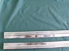 NOS Pair 1957 1958 Mercury Rocker Panel Mouldings OEM 57 58