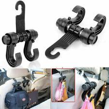 Black 1pc Car Back Seats Load 6kg Hook Holder Hanger Multi-functional Universal