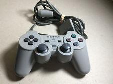 Sony Play Station 2 PS2 Grey Wired Controller SCPH-1200 TESTED GOOD