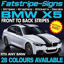 BMW X5 STRIPES GRAPHICS DECALS STICKERS CAR VINYL E53 E70 F15 M SPORT 4x4