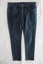 PORTMANS Womens Straight Slim Leg Blue Stretch Denim Jeans - Sz 12-14