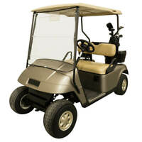 Portable Roll Up Golf Cart Universal Windshield Fits Most Club Car EZGO Yamaha