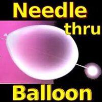 Needle Through Balloon - Needle Thru Balloon Visual Magic For Platform or Stage