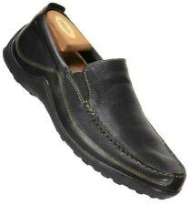 Cole Haan Mens C03557 Tucker Venetian Loafer Size 11M Black Leather Moc Toe Shoe