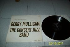 LP GERRY MULLIGAN THE CONCERT JAZZ BAND/ VERVE MGV 8388/1960 ITALY 1° ST