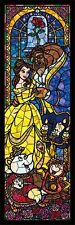 Disney 456 pcs Beauty and the Beast Jigsaw Puzzle Stained (18.5x55.5cm)