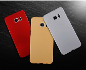 Luxary Ultra Slim Silky  Hard Phone Case Cover for Samsung S7/S7 edge