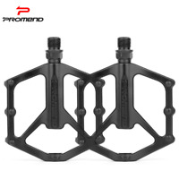 PROMEND Mountain Bike Pedal Lightweight Aluminium Alloy Bicycle Pedal DU Bearing