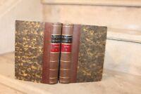 Louis Veuillot : ça et la en 2 tomes reliés (ed de 1860)