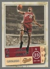 2004-05 FLEER AUTHENTIX #49 LEBRON JAMES