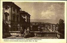 Kunstverlag Wolfrum in Wien ~1910 CANALETTO Liechtenstein`schen Garten Palais