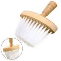 Salon Wooden Handle Barber Wide Neck Duster Hairdressing Hair Cutting Brush