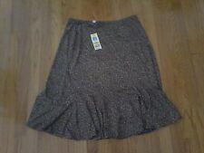 Charter Club Petite womans skirt size petite/medium  coffee grind NWT