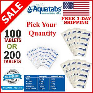 Aquatabs Water Purification Tablets (Wholesale & Bulk) FREE SHIPPING