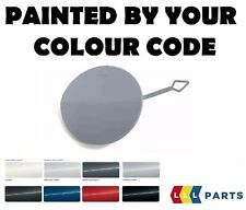 NEW BMW F22 F23 FRONT BUMPER TOW HOOK EYE COVER CAP PAINTED BY YOUR COLOUR CODE