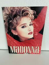 Madonna 1985 Virgin Tour Program