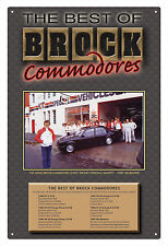 PETER BROCK COMMODORES VC VH VK VL THE DIRECTOR  BROCK COMMODORE TIN SIGN SMALL