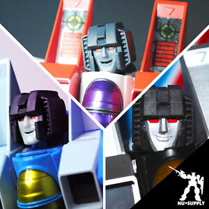 MakeToys MRTM Seeker head upgrade- Starscream/ThunderCracker/Skywarp