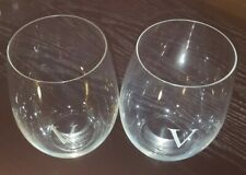 "Riedel Stemless ""V"" Wine Glassware - 2 PC Set"
