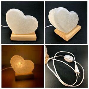 Natural salt lamps handmade