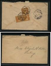 China  local  use   cover  1923   junk stamps      MS0203