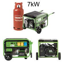 LPG  Generator Propane Gas 7kW Greengear Brand New + Free Delivery + Warranty