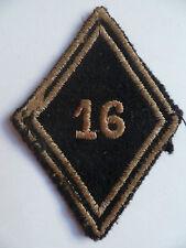 Insigne Losange tissu modèle 1945 Patch 16° RD REGIMENT DRAGONS French Cavalry