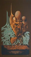 """Rare Genghis Tron Poster Print by Aaron Horkey Signed Numbered 21"""" X 38"""""""