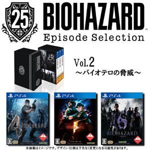 "Capcom PS4 ""Resident Evil 25th Episode Selection Vol.2"" pre-order limited JAPAN"