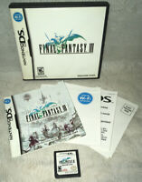 Final Fantasy III (Nintendo DS, 2006) - CIB, Tested & Working!