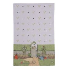 Sally Swannell Country Garden Tea Towel - Country Design 100% Cotton