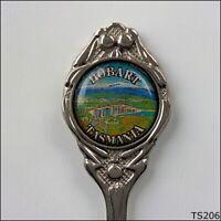 Hobart Tasmania Tasman Bridge Souvenir Spoon Teaspoon (T206)