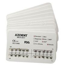 10 packs Azdent dental Orthodontic brackets Standard Roth Slot.022 3 Hook