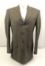 Firado Men's Brown Wool Suit Blazer Size 36