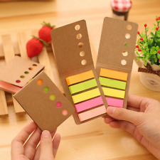Memo Fluorescent Post It Bookmark Point Marker Flag Index Pads Tab Sticky Notes